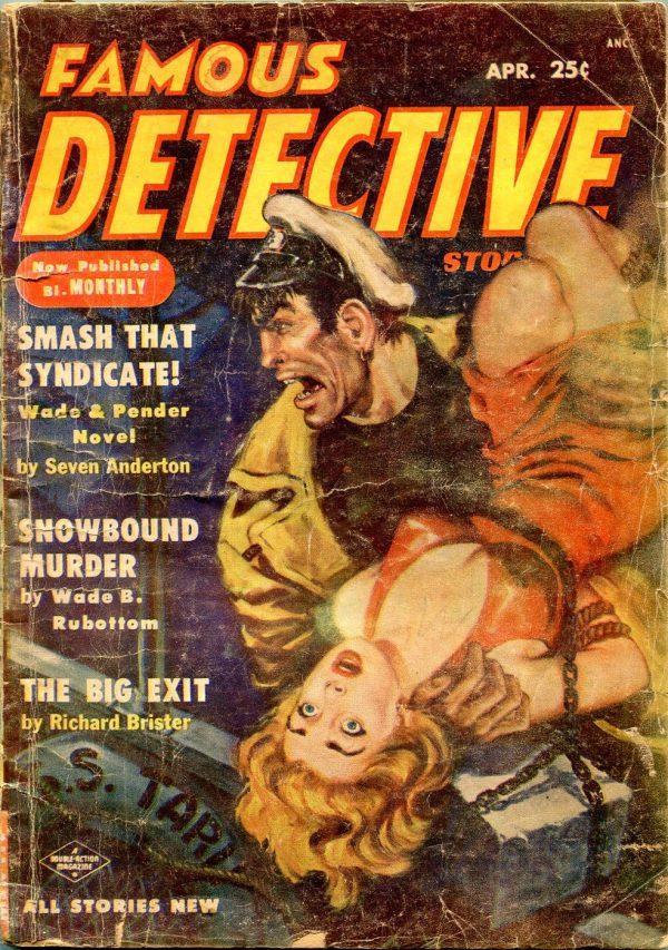 Famous Detective Stories April 1954