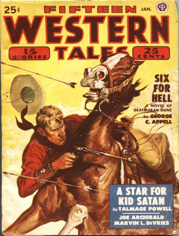 Fifteen Western Tales January 1950