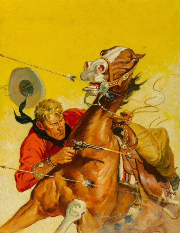 Fifteen Western Tales cover January 1950