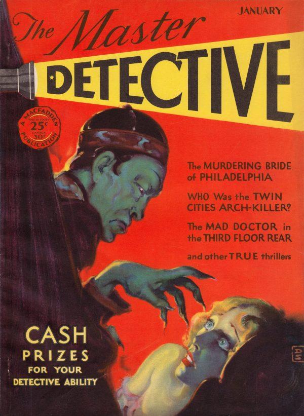 Master Detective - January 1930