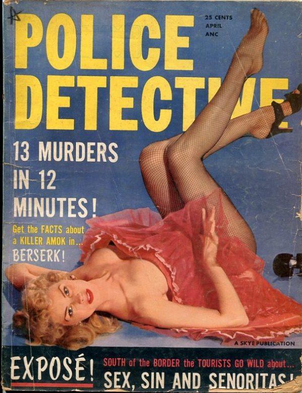 Police Detective April 1956