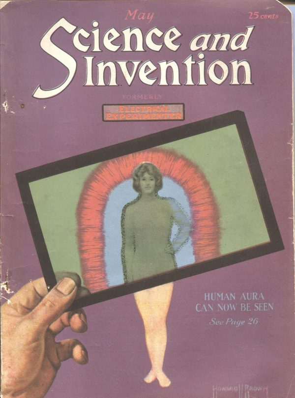 Science And Invention May 1921