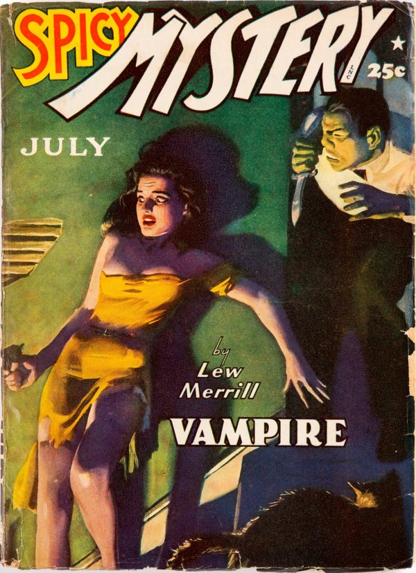 Spicy Mystery Stories - July 1942