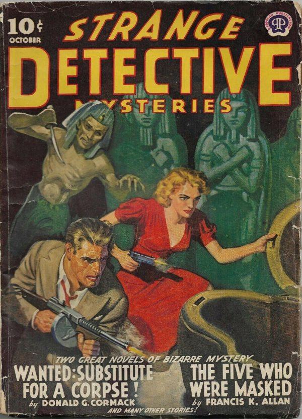 Strange Detective Mysteries October 1941