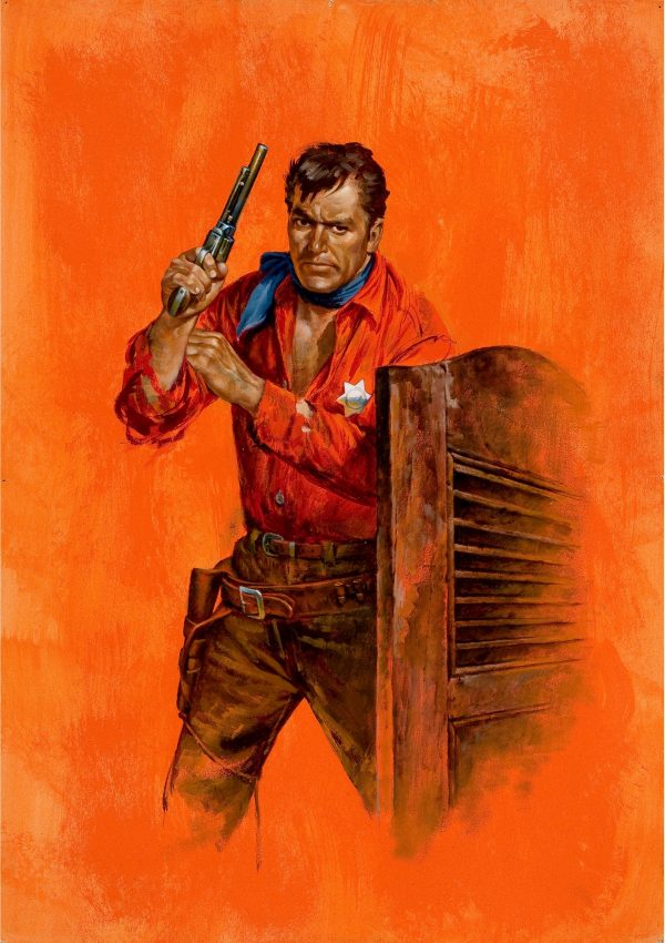 The Lone Deputy, paperback cover, 1959