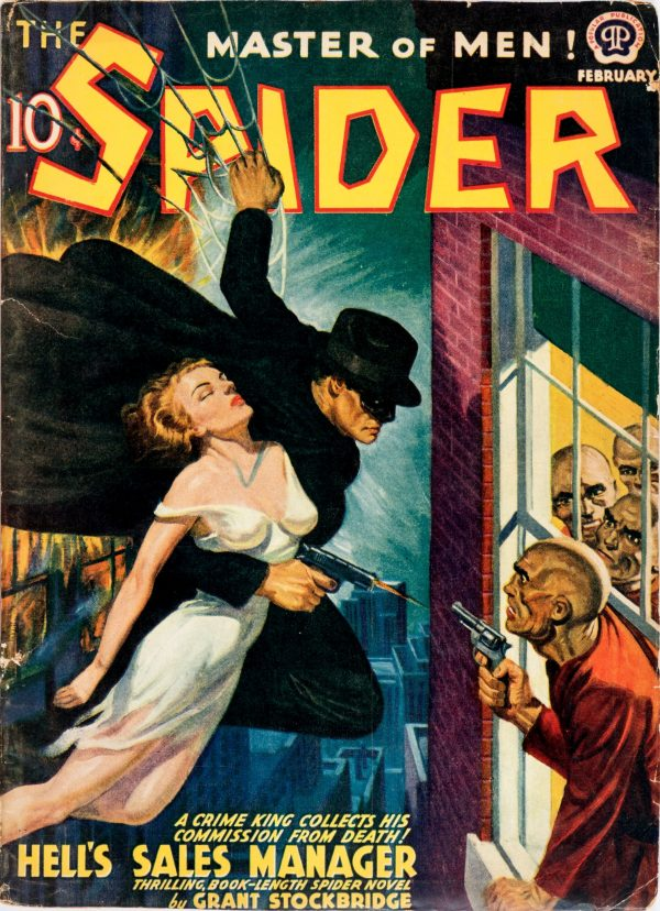 The Spider - February 1940