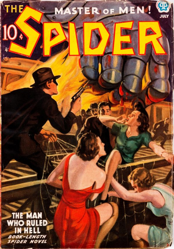 The Spider - July 1937