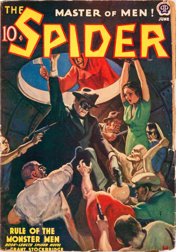The Spider - June 1939