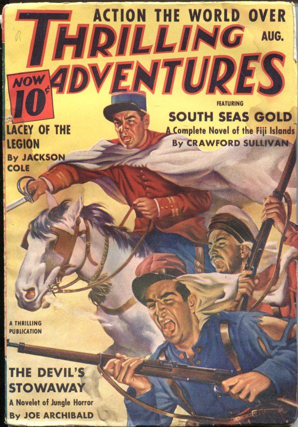 Thrilling Adventures August 1940