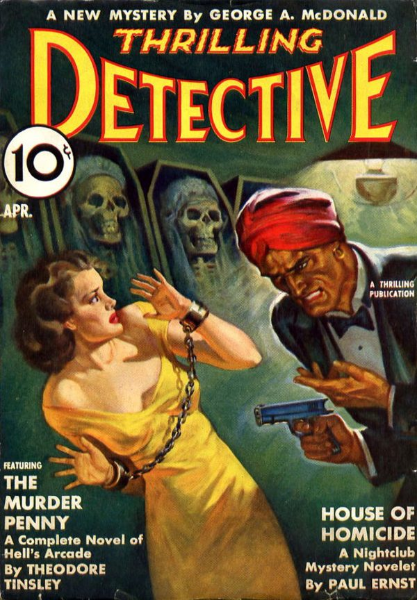 Thrilling Detective April 1938