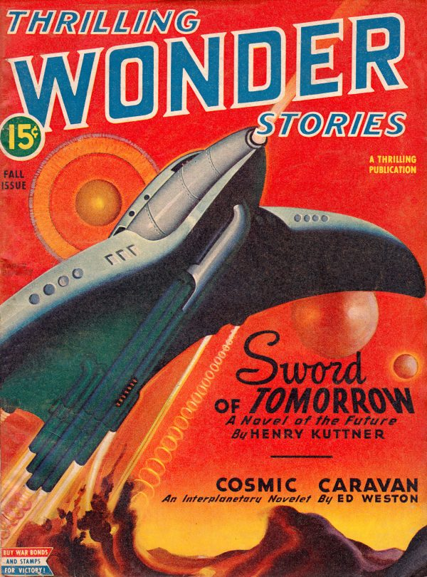 Thrilling Wonder Stories - Fall 1945