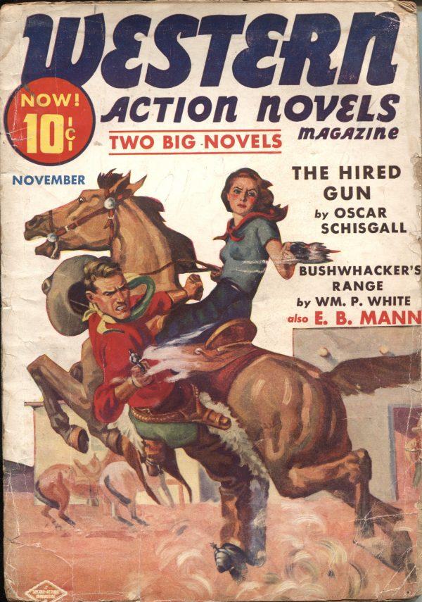 Western Action Novels November 1938