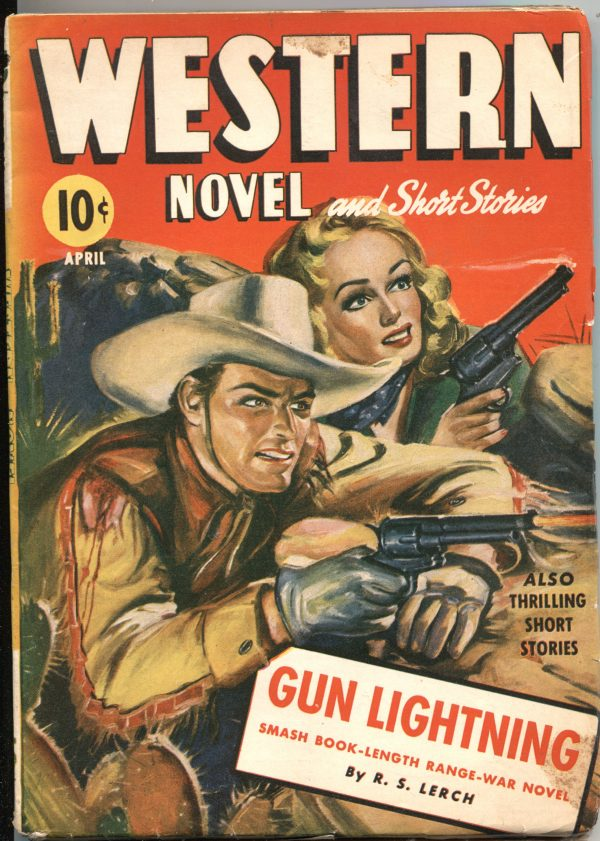 Western Novels And Short Stories April 1943