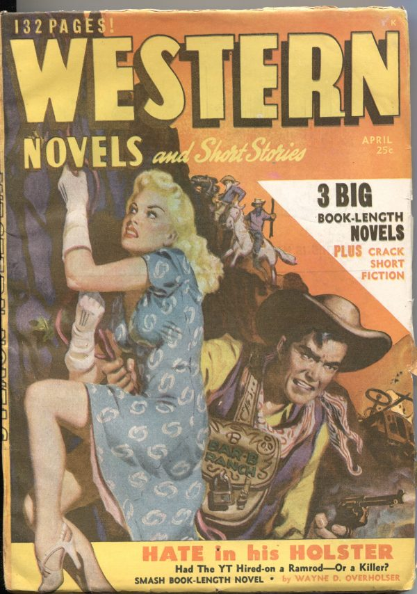 Western Novels And Short Stories April 1949