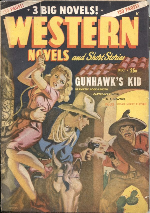 Western Novels And Short Stories December 1947