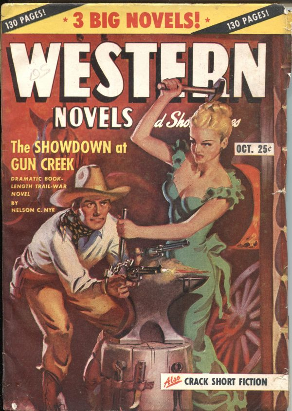 Western Novels And Short Stories October 1947