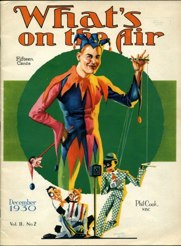 What's On The Air (December, 1930)