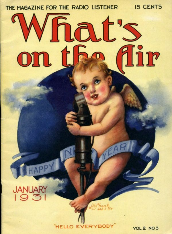 What's On The Air January, 1931