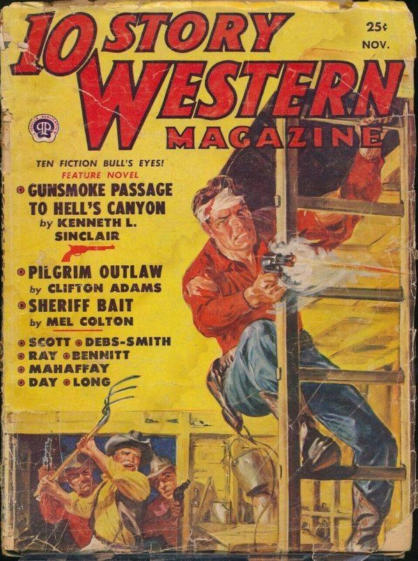 10 Story Western November 1950