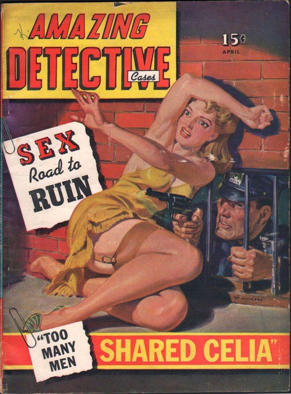 Amazing Detective Cases April 1942