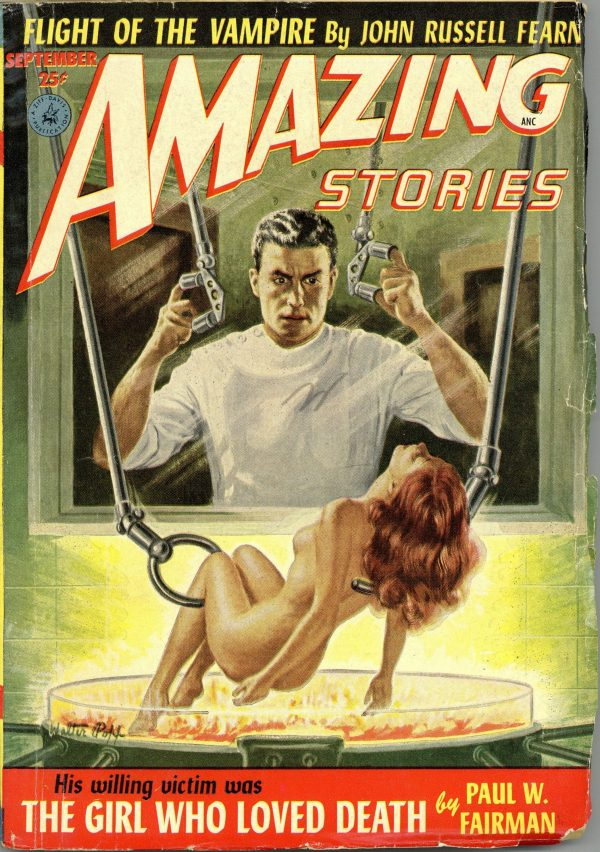 Amazing Stories Magazine September 1952