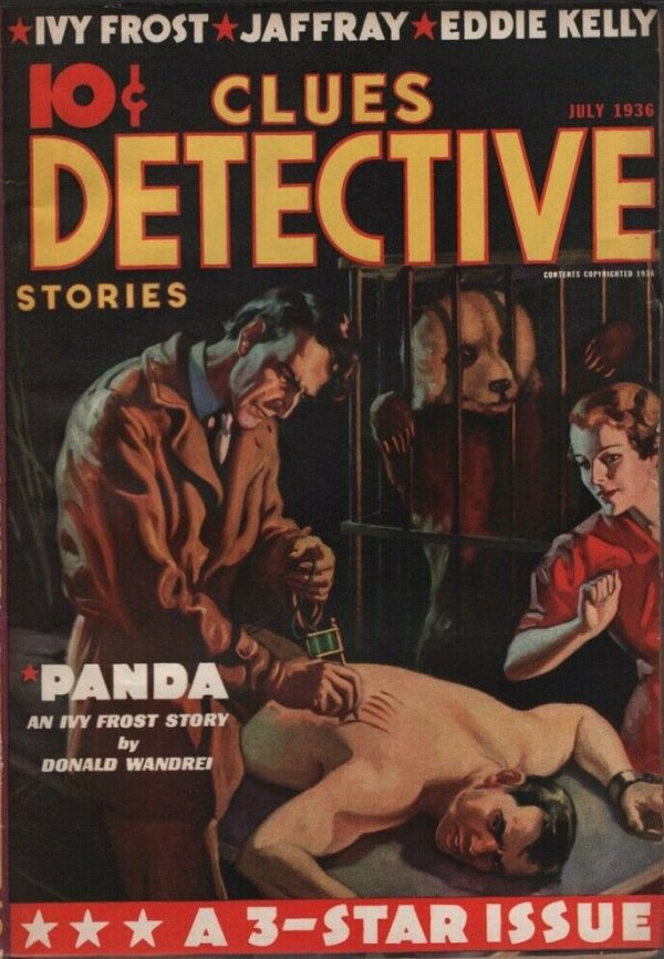 Clues Detective 1936 July