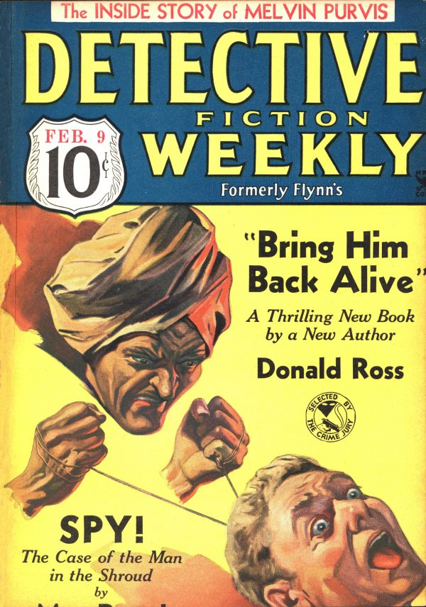 Detective Fiction Weekly February 9, 1935