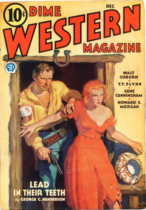 Dime Western Magazine - December 1932