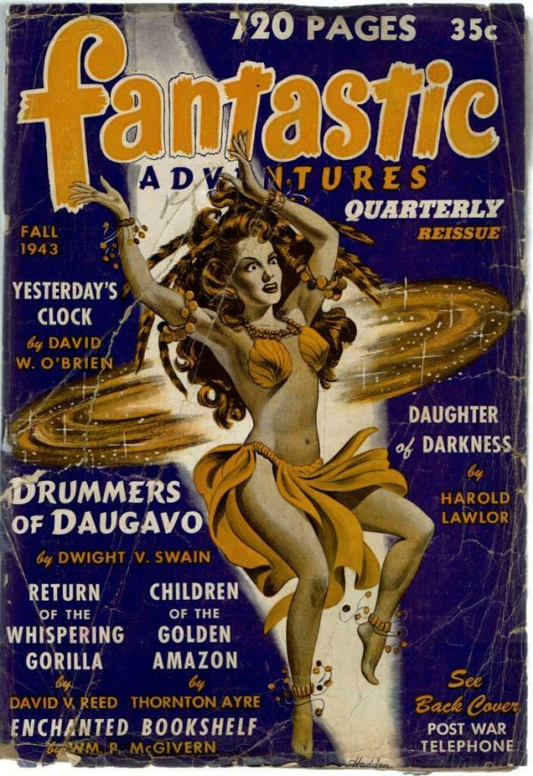 Fantastic Adventures Quarterly - Fall 1943