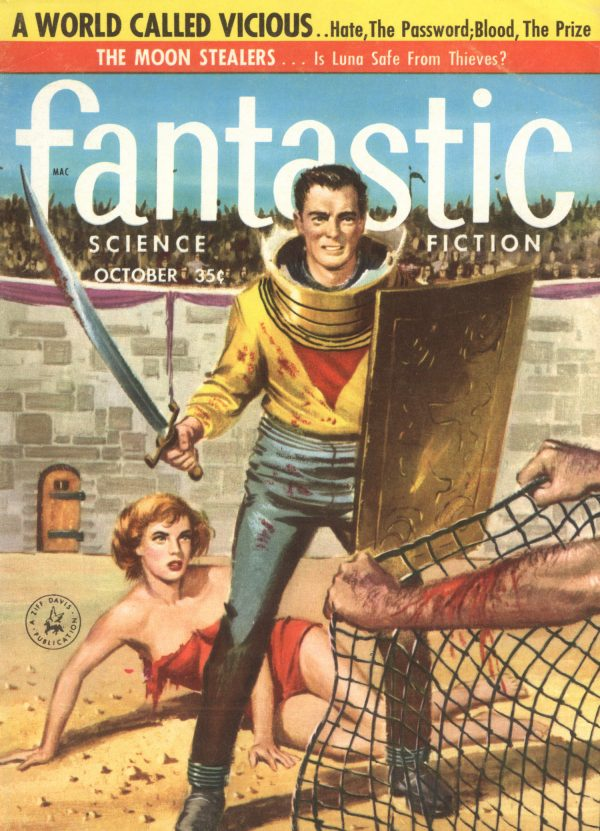 Fantastic, October 1957