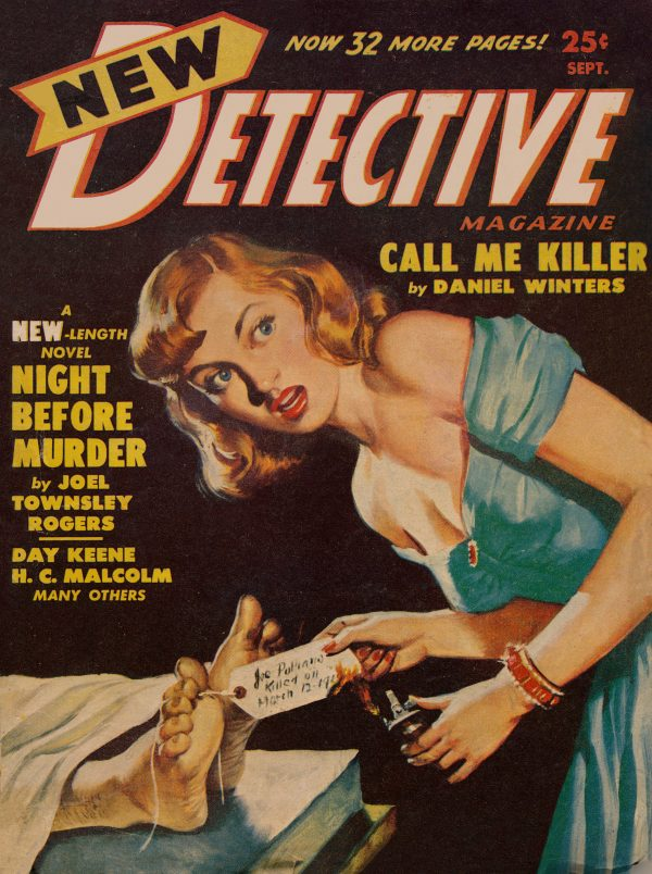 New Detective Magazine September 1950