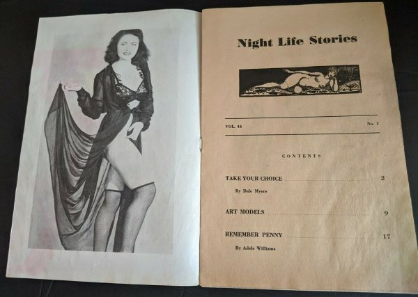 Nite Life Stories Vol. 44 contents