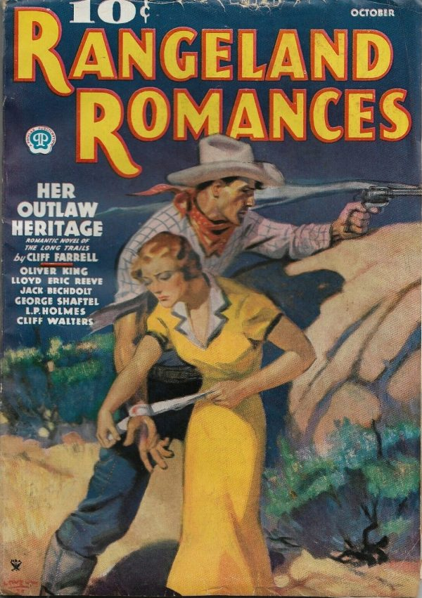 Rangeland Romances Oct. 1935