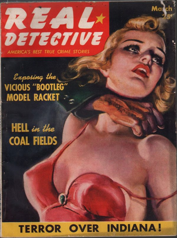 Real Detective March 1940