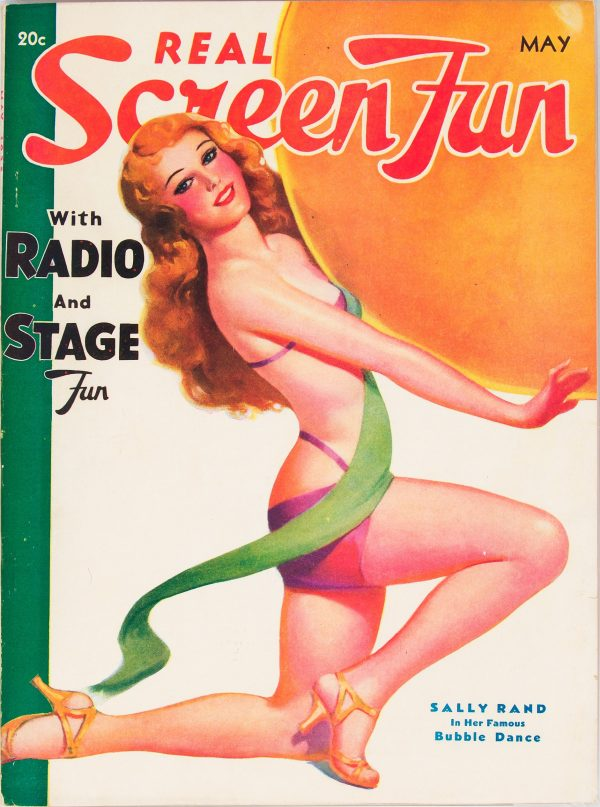 Real Screen Fun May 1935