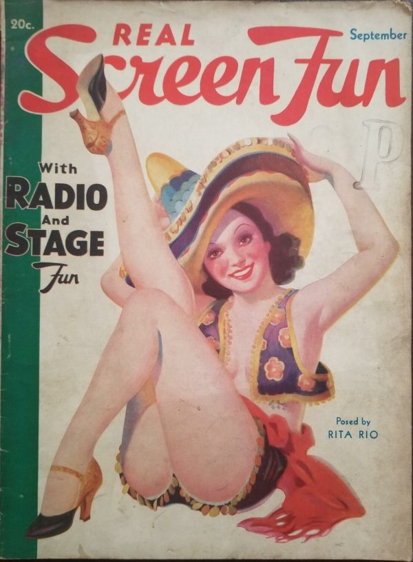 Real Screen Fun magazine September 1935