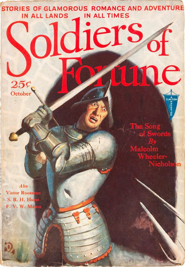 Soldiers of Fortune - October 1931