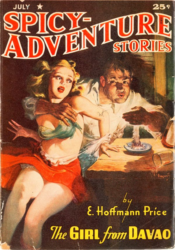 Spicy Adventure Stories - July 1942