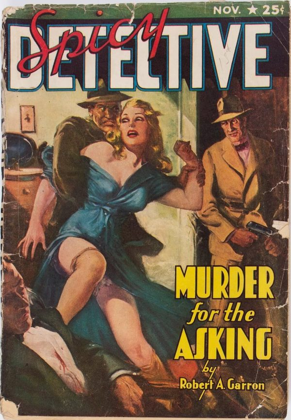 Spicy Detective Stories - November 1940