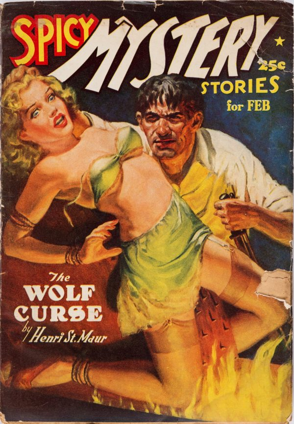 Spicy Mystery Stories - February 1939