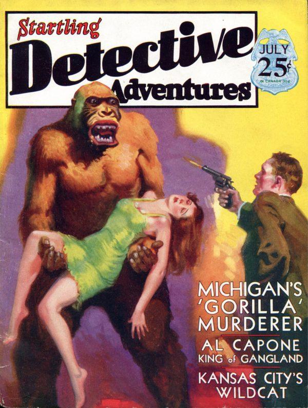 Startling Detective July 1930