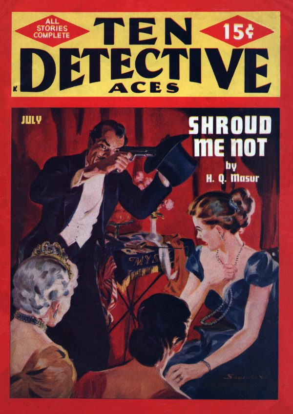 Ten Detective Aces July 1949