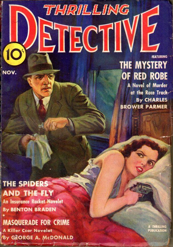 Thrillig Detective November 1939