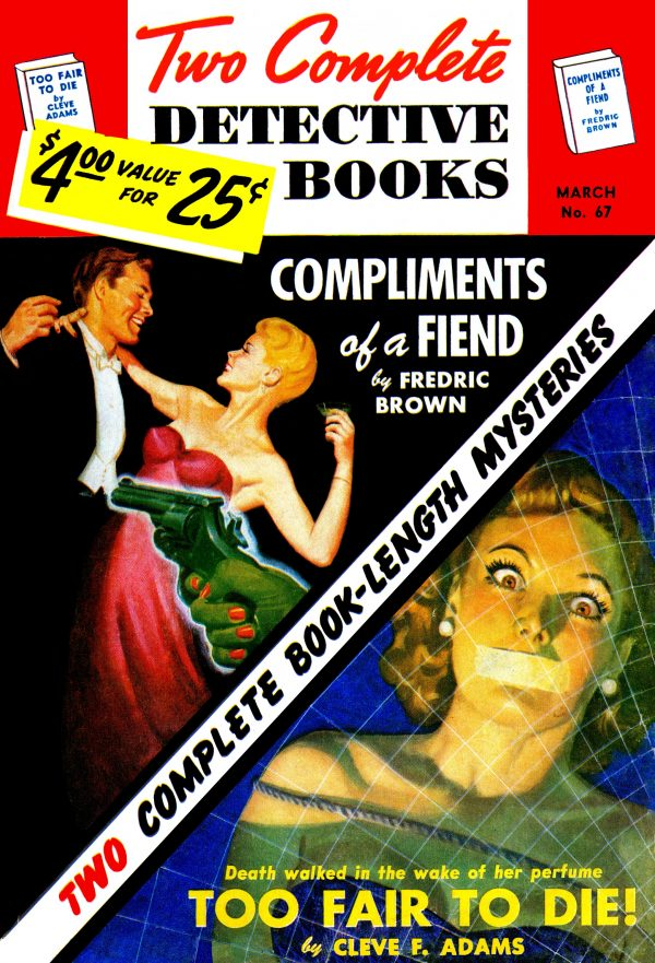 Two Complete Detective Books March 1951