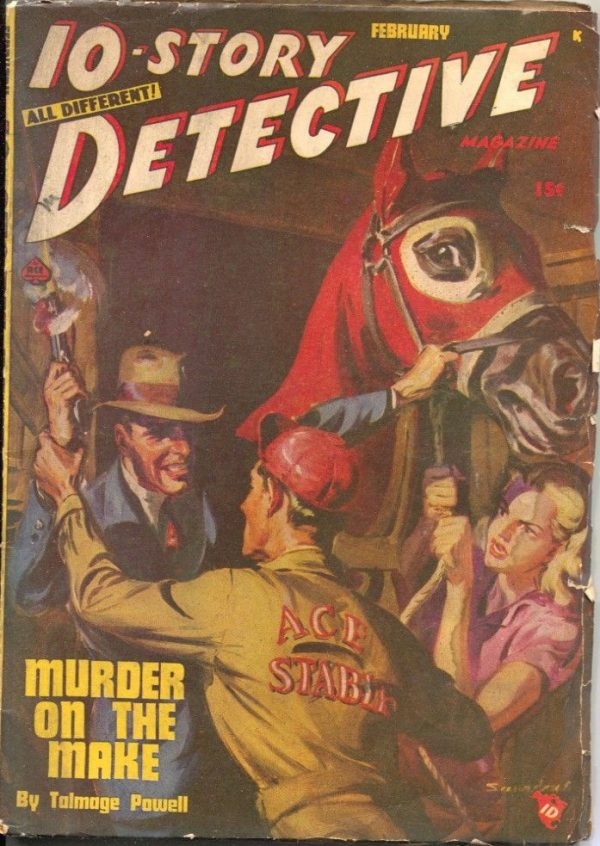 10-Story Detective February 1948