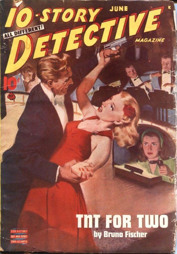 10-Story Detective June 1945