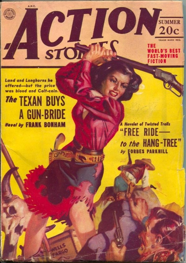 Action Stories Magazine Summer 1949