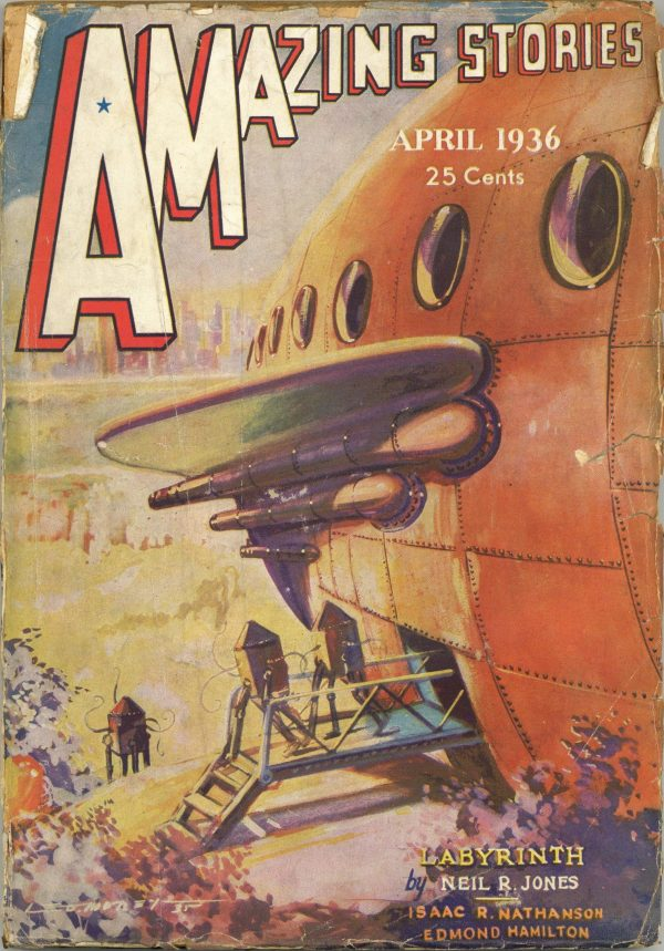 Amazing Stories April 1936