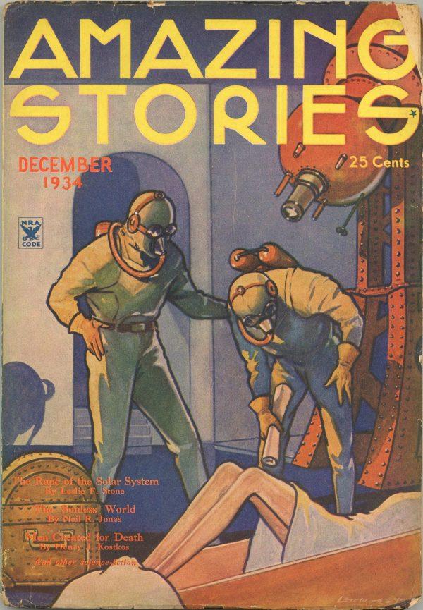 Amazing Stories December 1934