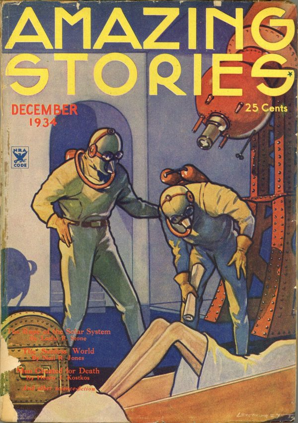 Amazing Stories Magazine December 1934